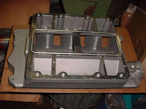 blower supercharger intake manifold  ford   windsor engine    ebay