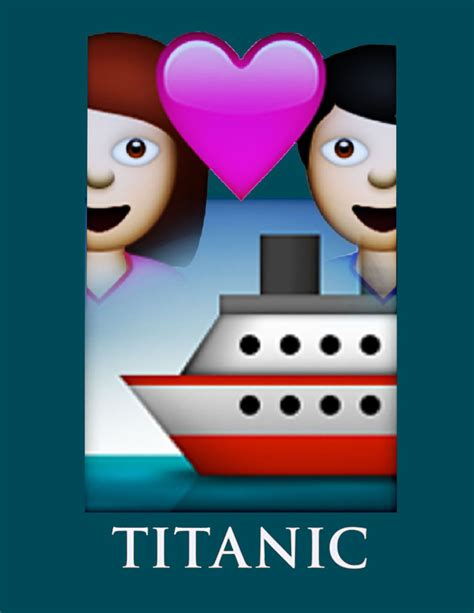 emoji film posters classic movie posters get an entirely emoji makeover