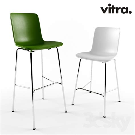 vitra hal bar stool 3d models chair vitra hal stool high medium