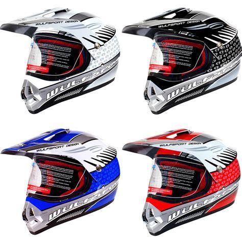 motocross helmet visor wulf prima 2 wulfsport motocross visor helmet motocross