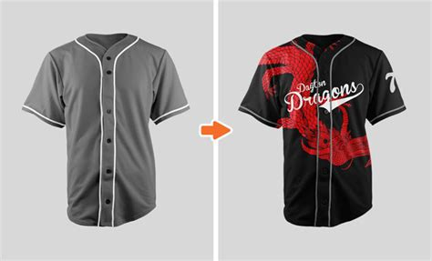 Sports Jersey Mockup Template Pack By Go Media Baseball Jersey Template Psd