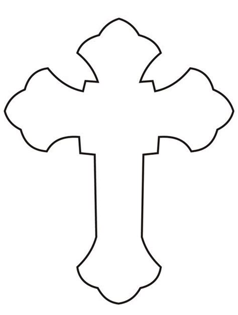outline of cross tattoo cross outline tupac cross outline image search results