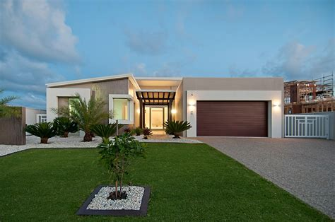 single story modern home design modern house plan