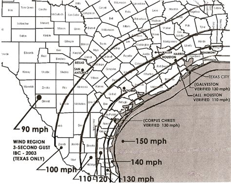 wind map texas qualified inspection services