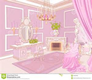 Princess Chandelier Princess Dressing Room Stock Vector Image 43065682