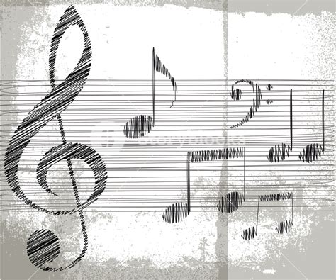 Sketches A Song by Sketch Of Notes Vector Illustration Royalty Free