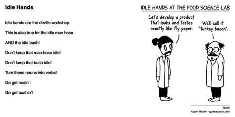 idle hands bible the gutterpunch confessional 333 idle hands