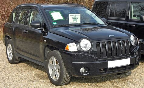 Jeep Compass Wiki File Jeep Compass 20090301 Front Jpg Wikimedia Commons