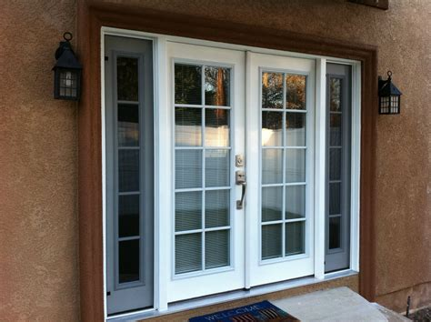 Doors With Side Windows That Open Thb Construction Back Door Replaced With