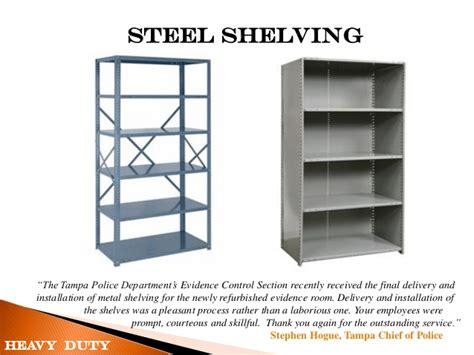 used steel shelving heavy duty steel metal shelves