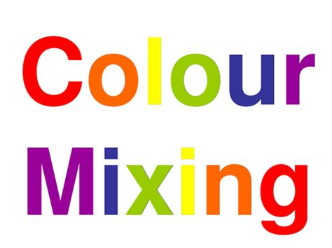 what color will be created by mixing 5 with 9 colour mixing with colour wheels by katyh76 teaching