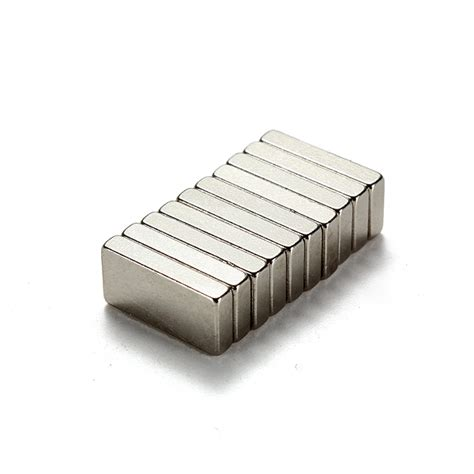 Strong Neodymium Magnet Ndfeb N35 10pcs Buy 10pcs New N35 Strong Block Cuboid Magnets Earth Neodymium Bazaargadgets