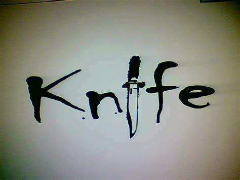 4 Letter Words Knife knife word design by kaymayd on deviantart