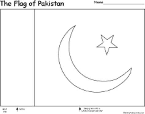 Pakistan Flag Coloring Page Pakistan Enchantedlearning Com by Pakistan Flag Coloring Page