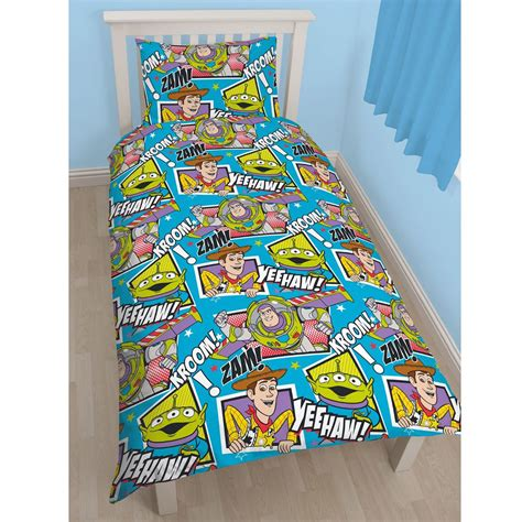 Buzz Lightyear Duvet Cover Toy Story Yeehaw Single Duvet Cover Set New Buzz