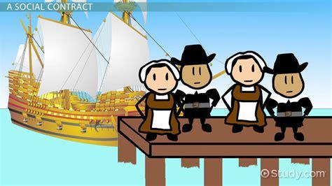mayflower boat cartoon mayflower compact definition summary history video