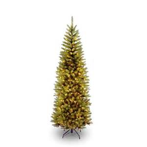 narrow tree with lights 6 5 foot narrow slim fir tree pre strug 250