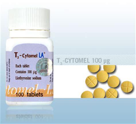 Cytomel Gainz Lab 100 Tabs T3 T 3 Liothyronine Sodium 25mcg Gain Z Lab image gallery cytomel