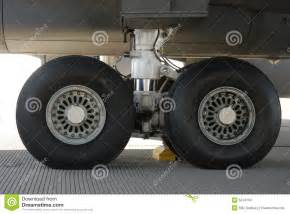 Tires And Wheels Of An Aircraft Aircraft Tires Stock Images Image 5243104