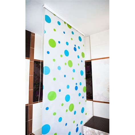 eco shower curtain bathroom blinds