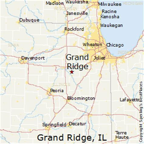 grand illinois map best places to live in grand ridge illinois