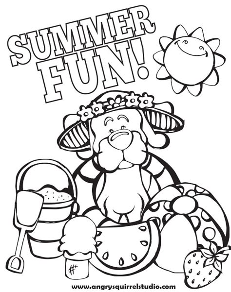 coloring pages for summer theme freecoloring4u com