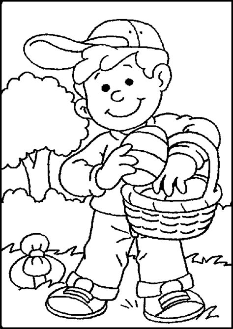 Easter Coloring Pages For Boys free coloring pages of color code for boys