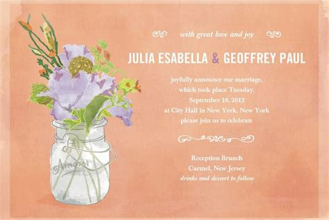 Wedding Announcement Ceremony by 25 Best Ideas About Wedding Announcement Wording On