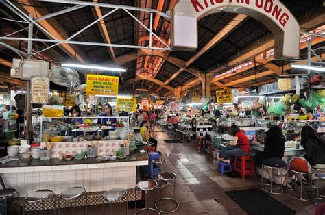 One day in Ben Thanh Market Ho Chi Minh City