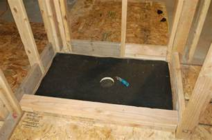 how to build a shower pan step four apps directories
