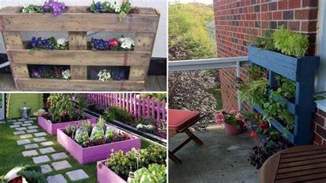 fioriere economiche fioriere per giardino economiche in pallet di legno