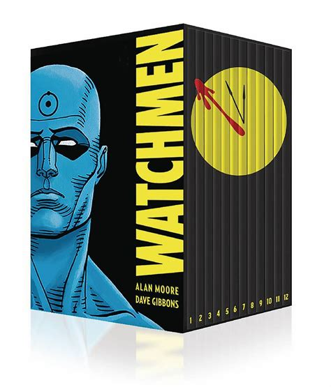 watchmen collectors edition box 1401270344 buy graphic novels trade paperbacks watchmen