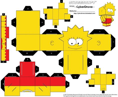 learn paper craft my learning journey simpsons family paper craft