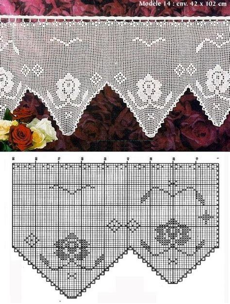 ideas  hacer bonitas cortinas de ganchillo ganchilloganchillo
