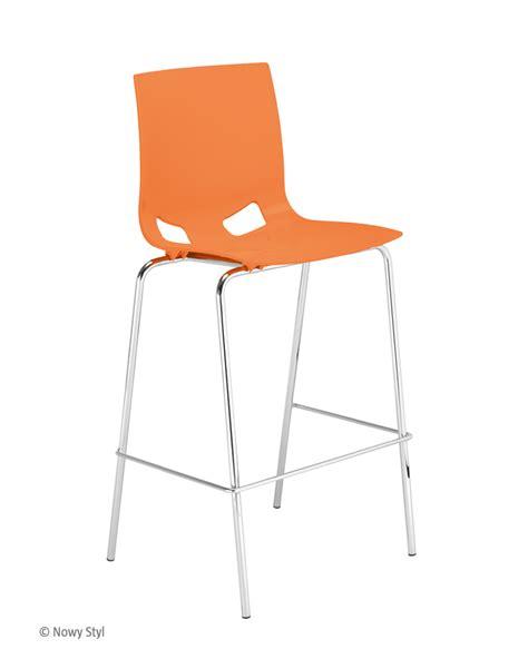 Fondo hocker chrome dining chairs nowy styl