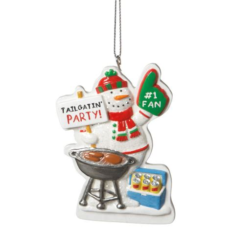 Home Decorating Images tailgate party christmas ornament