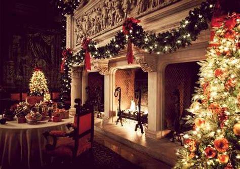 holiday fireplace   gilded age christmas