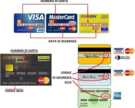 trovare la dall iban carta conto con iban o carta di credito differenze e