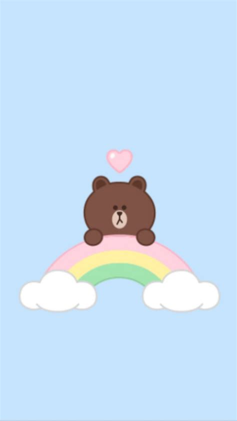 Line Friends Brown 34 best line friends images on wallpapers