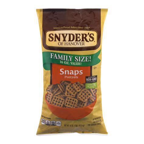 Snyders Snyders Honey Mustard 125gr snyder s of hanover jalapeno pretzel pieces 12 oz walmart