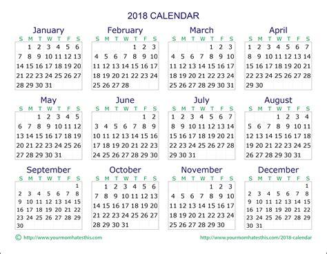 printable calendar 2018 mom 2018 calendar download quality calendars