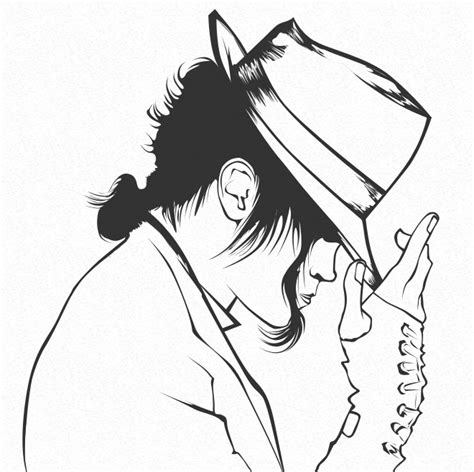 imagenes de michael jackson faciles para dibujar dibujos para pintar de michael jackson colorear im 225 genes