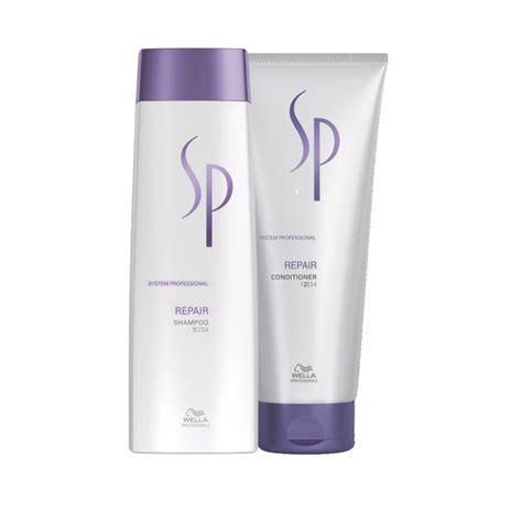 Wella Set by Wella Sp Repair Set Shoo 250ml Conditioner 200ml