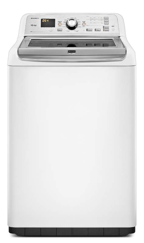 maytag bravos washer maytag mvwb880bw 4 8 cu ft bravos xl 174 high efficiency top load washer white sears outlet