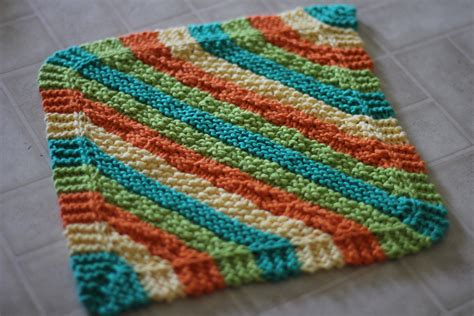 how to knit dishcloths chauffage climatisation dishcloth knitting pattern easy