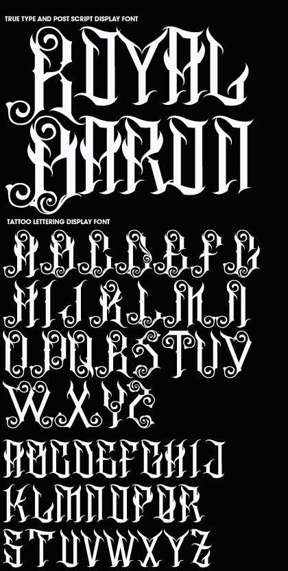 17 mejores ideas sobre letras goticas para tatuajes en