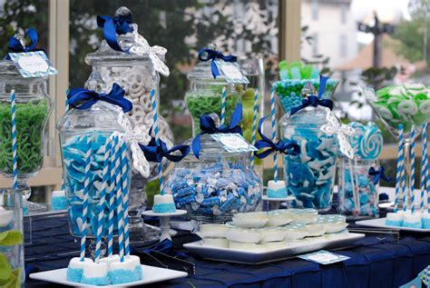 baby boy dessert table cw distinctive designs
