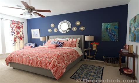navy blue and white bedroom navy blue and coral bedroom