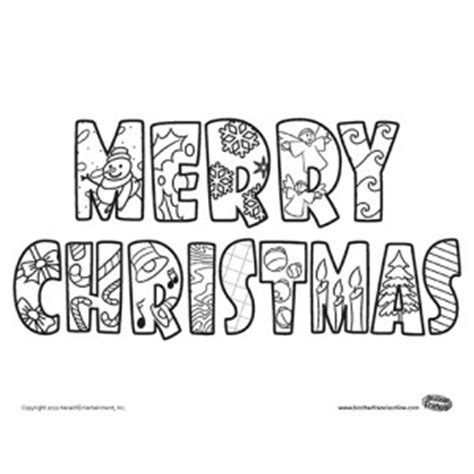 Words Merry Christmas Coloring Pages Pictures To Pin On Merry Words Coloring Pages
