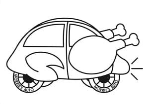morries thanksgiving coloring contest morries auto group